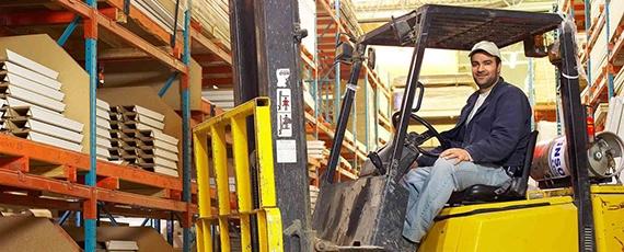 Водитель автопогрузчика 7 тонн - одна из самых привлекательных профессий